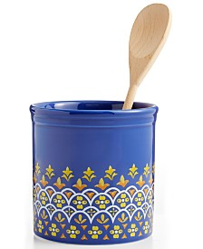 Martha Stewart Collection La Dolce Vita Tool Crock, Created for Macy's