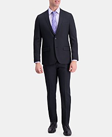 Men's Active Series Slim-Fit Stretch Moisture-Wicking Herringbone Suit Separates