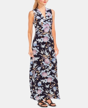 Vince Camuto Dresses FLORAL-PRINT MAXI DRESS