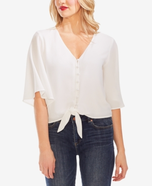 Vince Camuto Blouses TIE-FRONT TOP