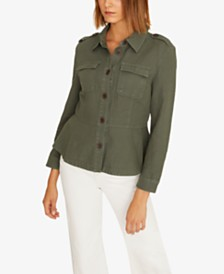 Sanctuary Mystic Mesa Peplum Jacket