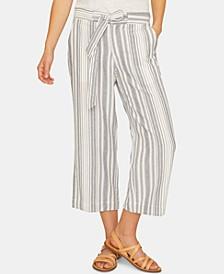 Sasha Stripe Capri Pants