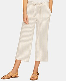 Sasha Stripe Capri Pants