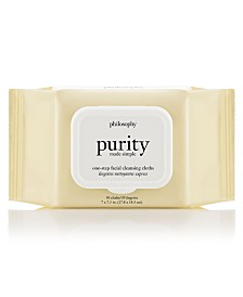 Philosophy Purity Made Simple One-Step Facial Cleansing Cloths, 30-Pc.