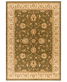 "CLOSEOUT! Kenneth Mink Area Rug, Warwick Meshad Green/Wheat 2'3"" x 7'7"" Runner Rug"