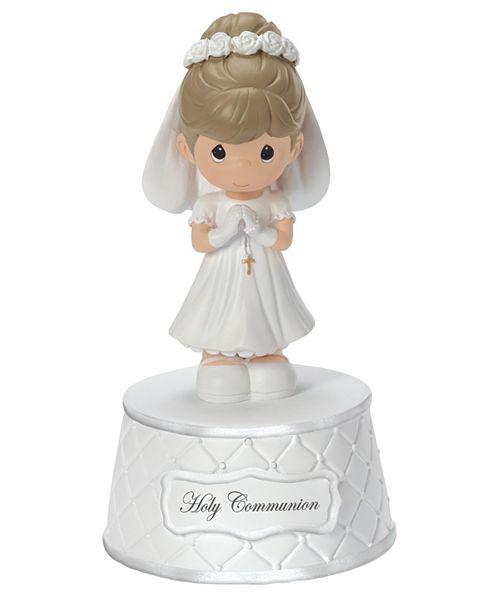 Precious Moments The Lord's Prayer Communion Girl Musical Music Box