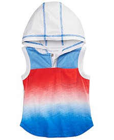 First Impressions Baby Boys Hooded Cotton Tank Top, Created for Macy's