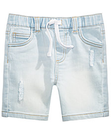 First Impressions Baby Boys Rip & Repair Shorts, Created for Macy's