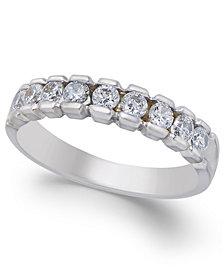 Diamond Band (1/2 ct. t.w.) in 14k White Gold