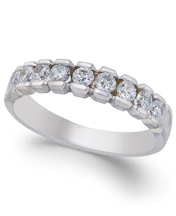 Macy's Diamond Band (1/2 ct. t.w.) in 14k White Gold