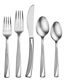 Studio Cuisine Malika 42-PC Flatware Set, Service For 8