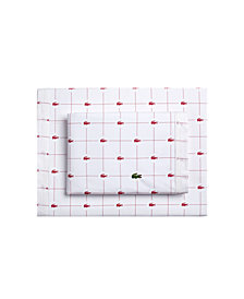 Lacoste Slice Twin Sheet Set