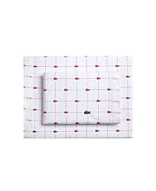Lacoste Slice California King Sheet Set