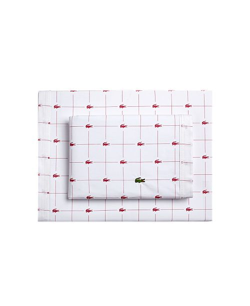 Lacoste Home Lacoste Slice Sheet Collection
