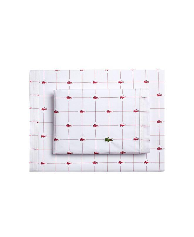 Lacoste Home Lacoste Slice Twin Sheet Set
