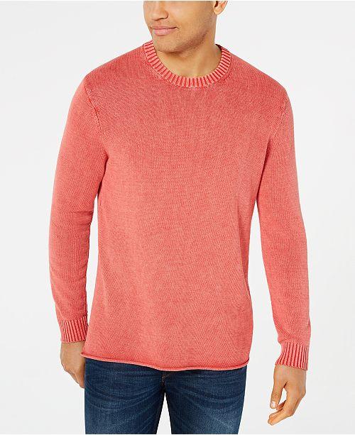 Michael Kors Men's Rolled Hem Sweater