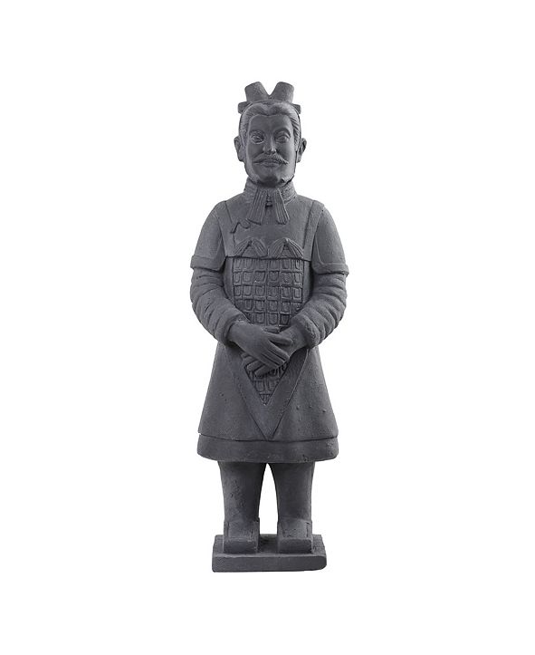 """Nearly Natural 40"""" Warrior Statue"""