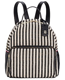Tommy Hilfiger Julia Lurex Straw Backpack