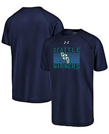 Big Boys Seattle Mariners Logo Tech T-Shirt