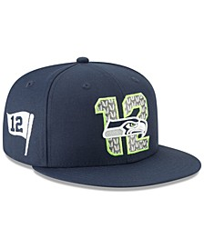 Seattle Seahawks 2019 Draft 59FIFTY Fitted Cap