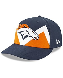 New Era Denver Broncos Draft Low Profile 59FIFTY-FITTED Cap