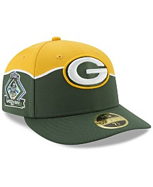 New Era Green Bay Packers Draft Low Profile 59FIFTY-FITTED Cap