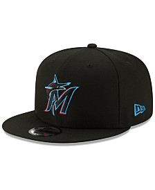 New Era Miami Marlins Basic 9FIFTY Snapback Cap