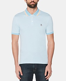Original Penguin Men's Tipped Logo Graphic Polo
