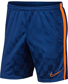 Nike Men's Breathe Academy Jacquard Soccer Shorts