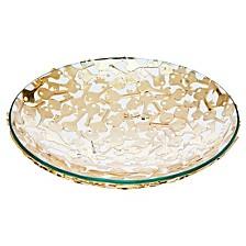 Key Design Bowl Gold - Large