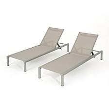 Navan Outdoor Chaise (Set of 2)