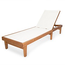 Summerland Outdoor Chaise, Quick Ship