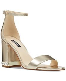 Nine West Abigail Block-Heel Sandals