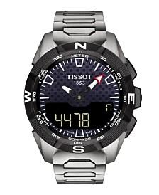 Tissot Men's T-Touch Expert Solar II Antimagnetic Stainless Steel Bracelet Watch 45mm