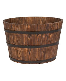 Round Cedar Barrel (2Pc-Box)