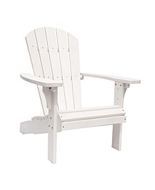Royal Palm Adirondack Chair, Recycled Plastic