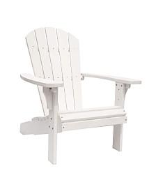 Royal Palm Adirondack Chair, Recycled Plastic