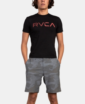 Rvca Shorts MEN'S ALL TIME COASTAL STRETCH PRINTED SHORTS