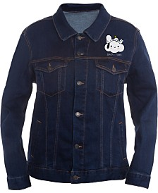 Peanuts Collection- Men's Snoopy Graphic Trucker Jacket