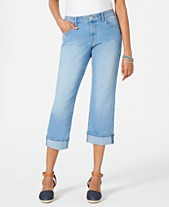7d704022202 Style   Co Curvy-Fit Capri Jeans