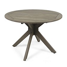 Stamford Outdoor Dining Table (X - Base), Quick Ship