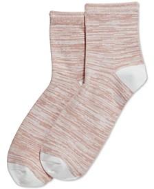 Women's  Super-Soft Cropped Socks