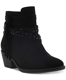 Little & Big Girls Taylor Stone Wedge Boots