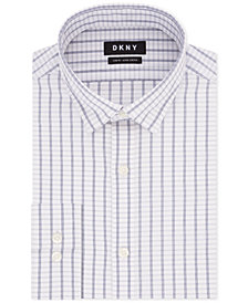 DKNY Assorted Men's Slim-Fit Active Stretch Moisture-Wicking Non-Iron Dress Shirts