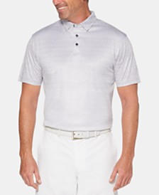 PGA TOUR Men's Printed Polo