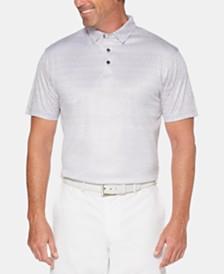 PGA TOUR Men's Printed Polo