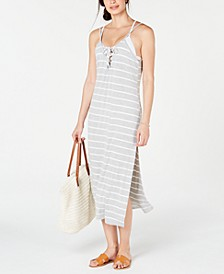 Striped Cover-Up Dress, Created for Macy's