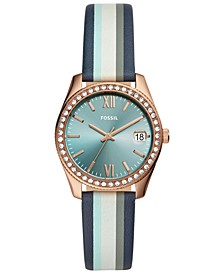 Women's Scarlette Mini Multicolored Leather Strap Watch 32mm