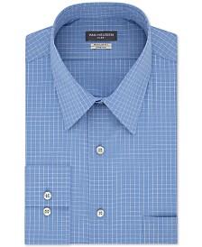 Van Heusen Men's Classic/Regular-Fit Performance Stretch Wrinkle-Free Flex-Collar Check Dress Shirt