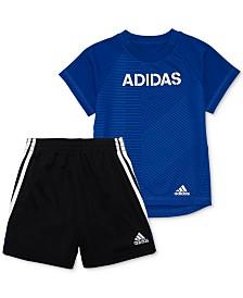 adidas Baby Boys 2-Pc. T-Shirt & Shorts Set